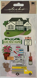 Sticko New Home Stickers $2.29