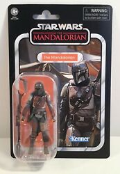 Star Wars Vintage Collection The Mandalorian VC166 Carded figure In Stock Now $25.00