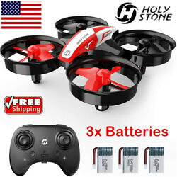 Holy Stone HS210 Mini Drone RC quadcopter Helicopter 3 batteries for Kids Gifts $19.99