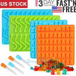 Gummy Bear Mold Candy Making Supplies Chocolate Ice Maker Silicone Molds 1 4Pack $16.85