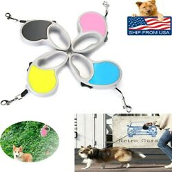 Automatic Retractable Dog Leash Tangle Free Durable 16ft Rope UP to 66 lbs Pets $5.49