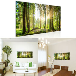 Nature Sunlight Forest Tree Canvas Painting Poster Picture Home Wall Art Decor $12.85