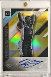 2019 20 Optic Keldon Johnson Signature Series Rookie RC Auto Gold 10 Holo Prizm $399.99