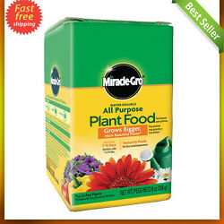Miracle Gro All purpose Plant Food Houseplant Grow Flower Fertilizer Garden 8Oz $6.90