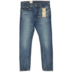 Levi#x27;s Men#x27;s 510 Skinny Fit Jeans #x27;Sinaloa#x27; Medium Blue Wash Denim Stretch Fit $36.49