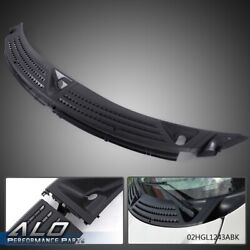 Pair Windshield Window Wiper Cowl Cover Panel Black For 2004 2008 Ford F 150 $38.30