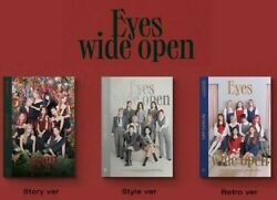 TWICE VOL.2 EYES WIDE OPEN ALBUM PREORDER SELECT VER POSTER KPOPPIN USA $92.99