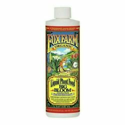 Foxfarm Big Bloom Liquid Nutrients Plant Food Organic Concentrate 16 oz $16.25