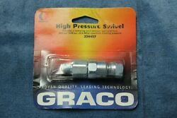 NEW GRACO High pressure swivel 224457 3600psi $28.00