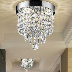 Crystal Chandelier Pendant Ceiling Light Fixture Kitchen Lighting Hanging Lamp $28.99