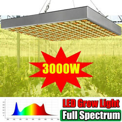 3000W LED Grow Light Full Spectrum Growing Lamp for Indoor Plant Veg Flower Seed $35.99