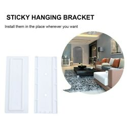 6Pcs Utility Hanging Socket Organizer Holder Patch Board Racks for Home Hotel $5.34