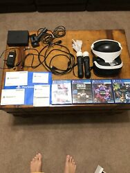 Sony PS4 VR Bundle with 4 Games Creed Blood amp; Truth Worlds amp; Demo Disc 3 $325.00