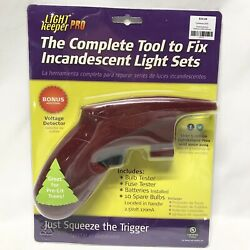 New Light Keeper Pro Christmas lights tester repair tool tree fixer holiday