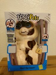 Feisty Pets Walmart Exclusive Plush Mort the Snort Pig Spotted NEW in Box $12.00