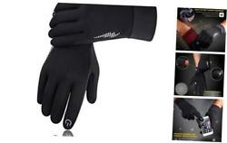 Winter Gloves Men Women Touch Screen Glove Cold Weather Warm Gloves Workout Glo $26.09