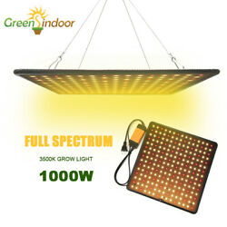 US 1000W LED Grow Light Full Spectrum for Indoor Flower Bloom Hydroponic Plant $28.99