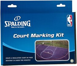 Spalding Basketball Court Marking Kit Accessories Sports Outdoors New $8.32