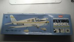 Guillows #307 Piper Cherokee 140 laser cut Balsa Wood Kit New in open box $24.99
