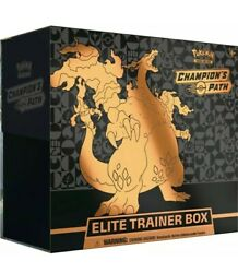 Pokemon Champions Path Elite Trainer Box TCG Factory Sealed IN HAND SHIPS NOW $84.99