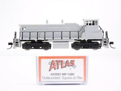 N Scale Atlas 52201 Undecorated EMD MP15DC Diesel Locomotive No# $89.95