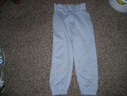 Boys baseball pants quot;Champroquot; size youth small gray excellent condition $9.99