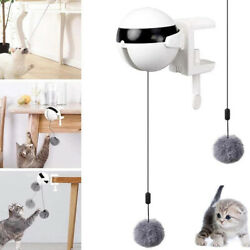 Cat Pet Toys Smart Interactive Automatic Lifting Ball Electric Tease Kitten Toys $13.99