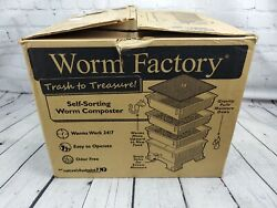 The Worm Factory® 360 Vermiculture Worm Composting Bin by Nature#x27;s Footprint $89.99