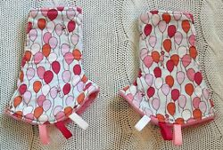 Handmade Etsy Small Shop Baby Reversible Suck Drool Pads for Ergo Carrier $14.99