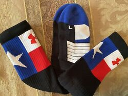 Under Armour Red White and Blue Star Socks $5.50
