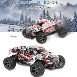1:20 2.4Ghz 4WD High Speed RC Off Road Monster Truck Remote Control Car Blue $21.80