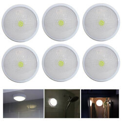 6 Pack LED Touch Night Lights Closet Counter Tap Lamps Battery Powered Emergency $34.02