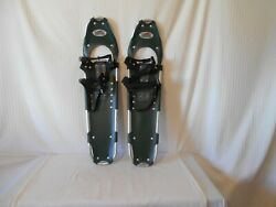 REDFEATHER snowshoes 36quot; green $89.00
