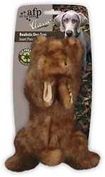 All for Paws Classic Brown Rabbit Pet Toys Small $12.46