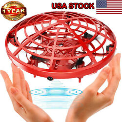 UFO Mini Drone Infrared Sensor Induction Aircraft Flying Toy Quadcopter For Kids $15.97