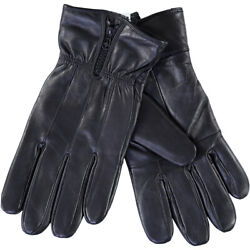 Tahari Premium Lambskin Leather Driving Gloves With Insulated Lining Black L $14.99