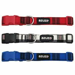 azuza 3 Pack Dog Collars Soft amp; Comfortable Dog Collars for Small Dogs Plaid $20.99