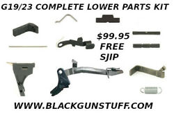 Premium Lower Parts Kit for Glock 19 Gen3 and Polymer80 PF940c $75.95