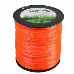 5lb .095 Square Orange Commercial String Trimmer Line Fits Echo Crossfire Shape