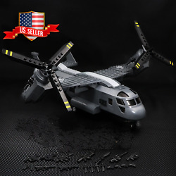 *US SELLER* V 22 Osprey Helicopter Custom Army Military Minifigures Block Toys $35.00