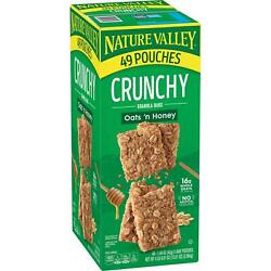 Nature Valley Oats #x27;n Honey Crunchy Granola Bars 98 ct. New $21.99