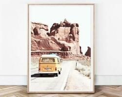 Gallery Wall Set Travel Poster Boho Home Decor Art Signature Wall Posters Print $17.99