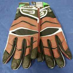Cutters Football Gloves C Tack X40 Revolution Maroon Size X Large $24.95