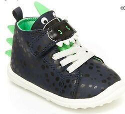 Carter#x27;s Every Step boys infant Frodi novelty high top sneaker Size 6 NWT $23.99