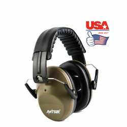 US 26dB Noise Reduction Ear Muffs Sport Shooting Hearing Protection ears Headse $15.97