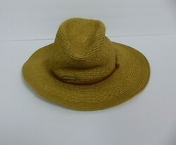 Vince Camuto Women#x27;s Straw Floppy Bucket Hat Sun Beach Beige Casual One Size $12.47