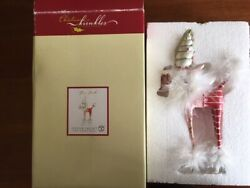 Department 56 Christmas Krinkles Purse Poodle 8quot; Ornament Patience Brewster NIB $25.95