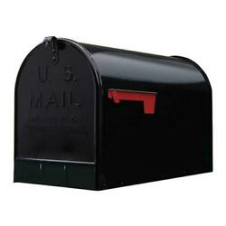 Heavy Duty Extra Large Mailbox Galvanized Steel XL Jumbo Post Mount Big Mail Box $31.45