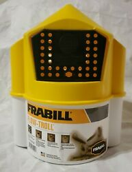 Frabill 6qt Flow Troll Minnow Bucket Aerated Fishing Live bait Container $21.99