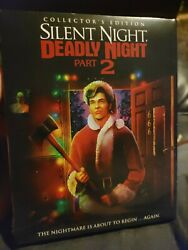 Silent Night Deadly Night Part 2 brand new Blu Ray Collector#x27;s Edition slipcover $32.00